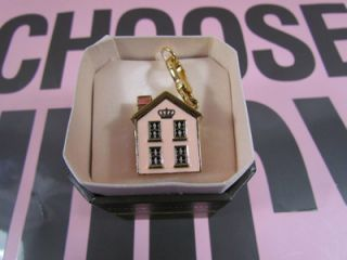 Juicy Couture Home Sweet Home Charm 4 Bracelet Necklace Keychain **NWT