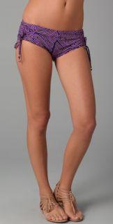 Tibi Malawi Boy Short Bikini Bottoms