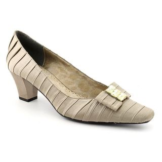 Renee Felicity Womens Size 8 Gray Narrow Fabric Pumps Classics Shoes
