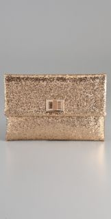 Anya Hindmarch Valorie Glitter Clutch