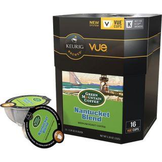 Keurig Green Mountain Coffee Nantucket Blend Vue Pack 16 Count 9301016