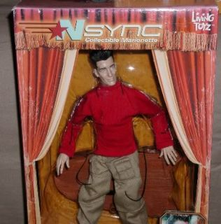 Awesome NSYNC Marionette Doll JC Chasez Mattel