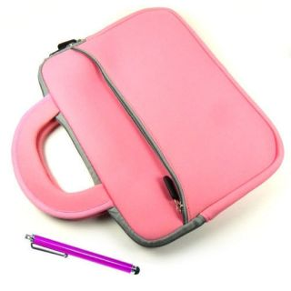 Pink Sleeve Carry Case Bag iView 1000TPC 10 1 Vimicro 882 Tablet PC w