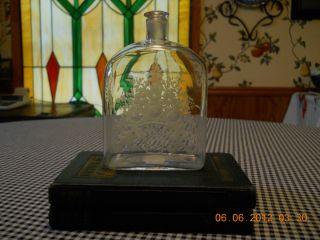 Stunning Italian Murano Art Glass Perfume Decanter Salviati Paper