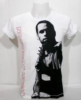 Jack Johnson T Shirt Retro Soft Folk Acoutic Rock s XL