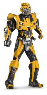 Bumblebee 3D Theatrical w Vacuform Movie Adult Superhero Costume Party
