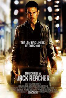 Jack Reacher Original DS Movie Poster D s 27x40 Tom Cruise