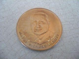 Mayor Richard J Daley Inauguration Commemorative Coin