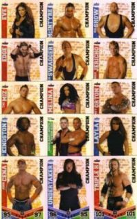 WWE Slam Attax Mayhem Champion Card You Choose Which One s Free P P