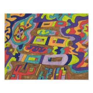 Make a joyful noise to the Lord. A bright and colorful abstract by