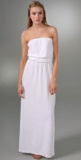 Juicy Couture Terry Strapless Long Dress