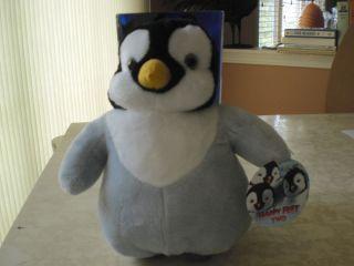 Happy Feet Two Baby Erik Stuffed Animal Plush Toy Authentic Penguin