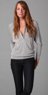 Ella Moss Sunburst Long Sleeve Pullover