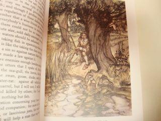 Compleat Angler by Izaak Walton 1986 Arthur Rackham