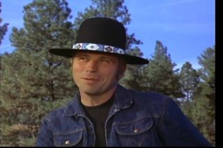 Indian Natani Nez Black reservation Feather Hat Billy Jack
