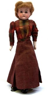 Armand Marseille 19 5 Floradora Bisque Shoulder Head Doll Kid Body