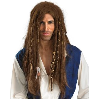 Pirates of The Caribbean Jack Sparrow Deluxe Wig Adult Costume
