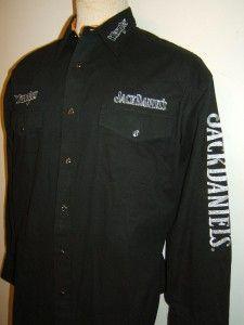 Wrangler Jack Daniels Embroidered Old No 7 Shirt Daniels