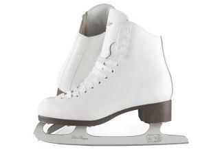New Jackson Glacier GSU120 Girls Ice Figure Skates with Suede Lining