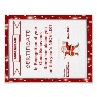 Letter to Santa Clause Template Print