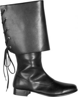 Mens Buccaneer Pirate Jack Sparrow Costume Boots 10 11