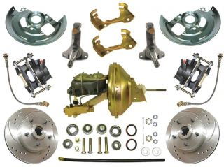 1964 72 Chevelle High Performanance Power Disc Brake Conversion Kit