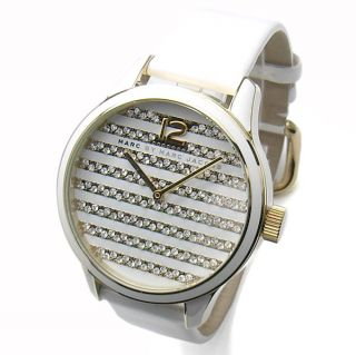 Marc by M Jacobs MBM1164 White Lidia Ladies Watch