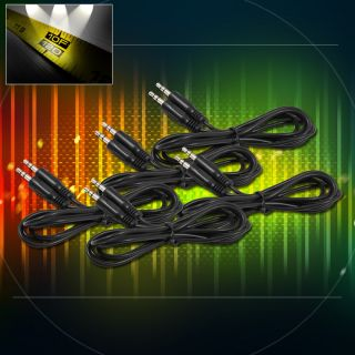 10FT 3 5MM M M JACK AUX STEREO CABLE CORD IPAD IPHONE IPOD  CAR