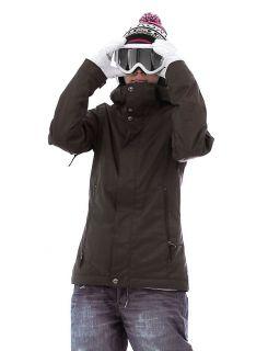 Burton Baby Cakes Snowboard Jacket Black Gray 9