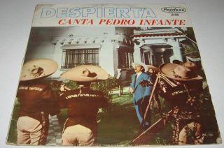 PEDRO INFANTE DESPIERTA MEXICAN LP mariachi CUANDO SALE LA LUNA