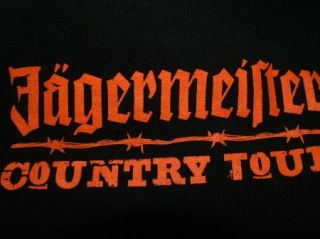 Jagermeister T Shirt Country Tour L