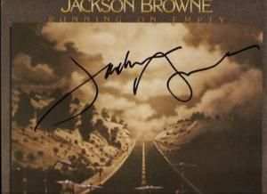 Running on Empty Signed Jackson Browne Album