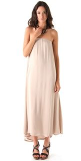 Riller & Fount Esmeralda Strapless Layered Maxi Dress