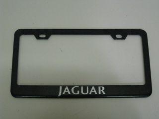 Jaguar XJ6 XK XJ XF s x Type Black Metal License Plate Frame