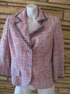 Austin Reed Tweed Blazer Jacket Coat Sz 14