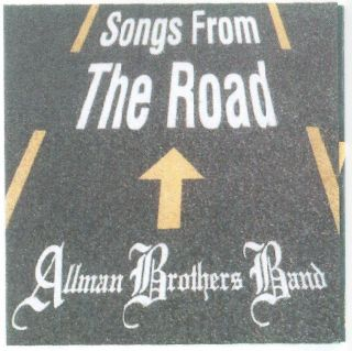 From The Road Allman Brothers CD 1995 Live Gregg Dickey Betts Jam Band