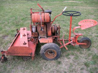 Vintage Jacobsen Riding Lawn Mower