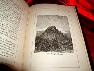 Historic RARE 1885 Masonic Templar Martyr Tortures Book Scarlet