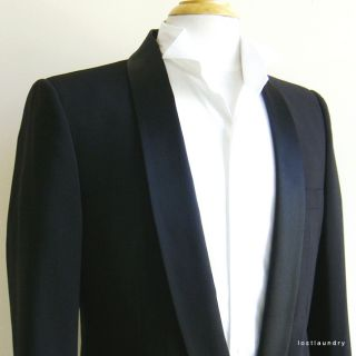 Marc Jacobs Shawl Collar Black Tuxedo Style Jacket IT46