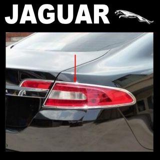 X2 New Jaguar XF Premium Luxury Sport Portfolio Chrome Tail Rear Light