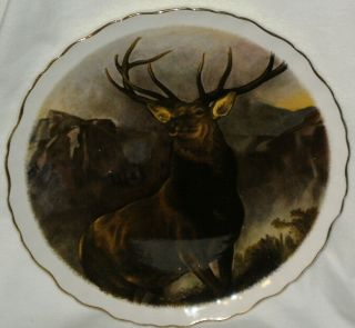 James Kent Old Foley England Plate Monarch of the Glen Sir Edwin