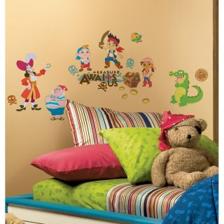 Jake and The Neverland Pirates Big Wall Stickers Room Decor Decals