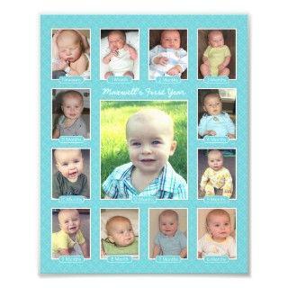 Impresión moderna del collage de la foto del prime de