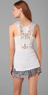 Free People Long and Lean Fabulousness Tank