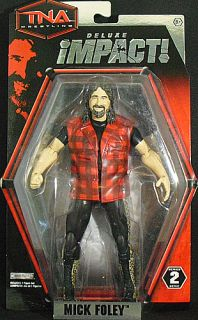Mick Foley TNA Deluxe Impact 2 Jakks Toy Action Figure