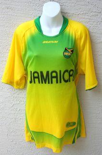 New Jamaica Football Federation Soccer Agmar Jersey Shirt Men XL