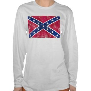Vintage Confederate Flag T Shirt