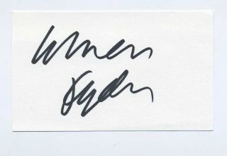 Winona Ryder Autograph Signed Beetlejuice Little Women RARE Signature