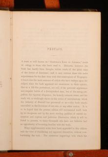 C1851 4VOLS Life of Samuel Johnson Works James Boswell