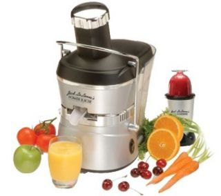 Jack Lalanne Power Juicer Elite with Power Chopper New in Original Box